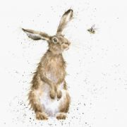 Wrendale The Hare and The Bee Greeting Card